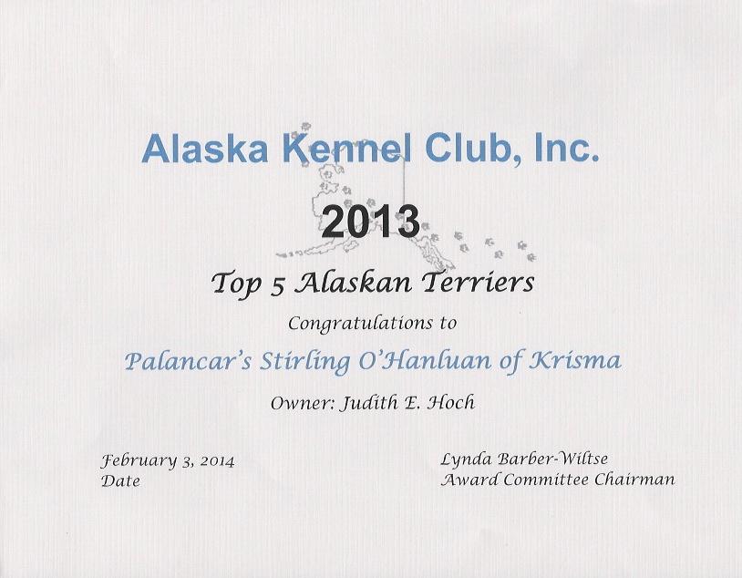Top 5 Alaskan Terriers