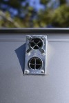 Face View of Fresh Air & Exhaust Vent