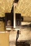 Propane Furnace installed on custom-welded aluminum hanger...