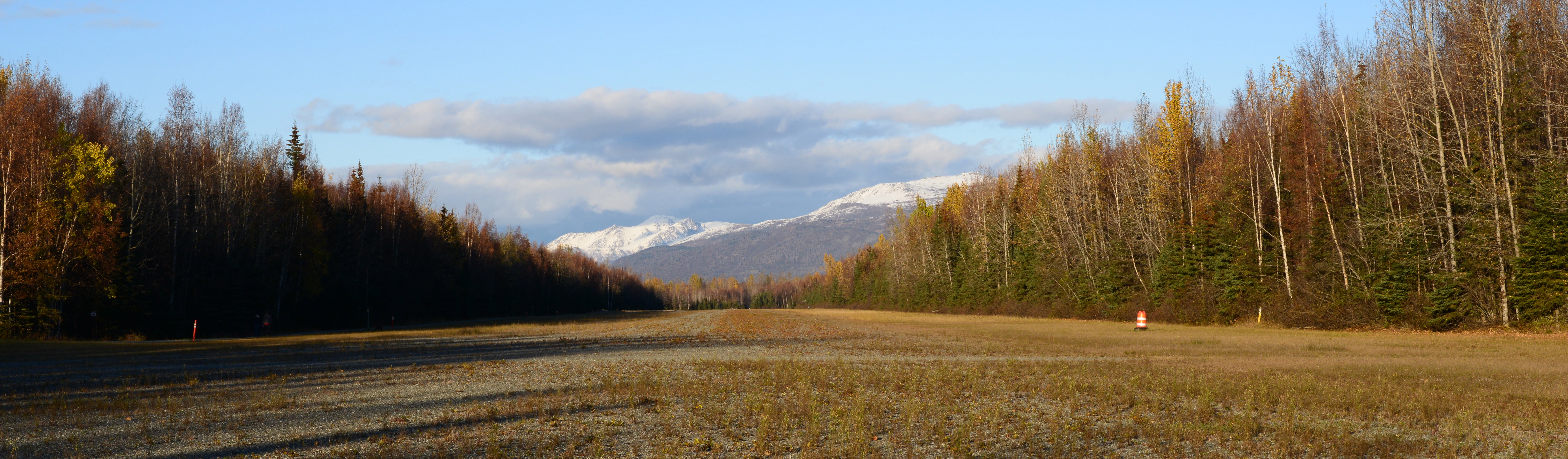 View of the Chugach Mtns from the Campbell Airstrip